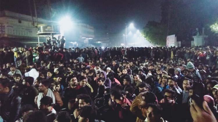 Aligarh-road-picketing