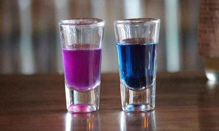 Blue-turn-Purple