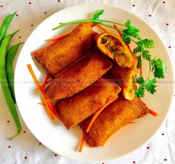 Chineese-Vegee-bread-rolls