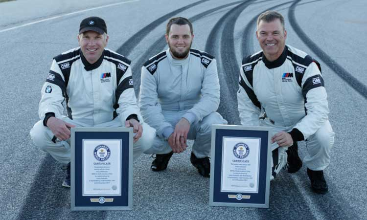F90-BMW-M5-Drift-World-Record