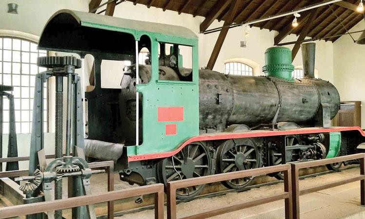 old engine hijas museum