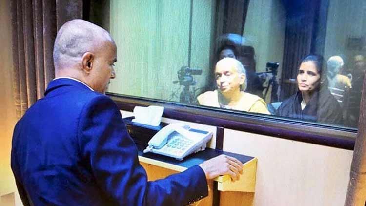 ഇന്ത്യൻ ഡെപ്യൂട്ടി ഹൈകമീഷണർ കുൽഭൂഷൻ ജാദവുമായി കൂടിക്കാഴ്ച നടത്തി