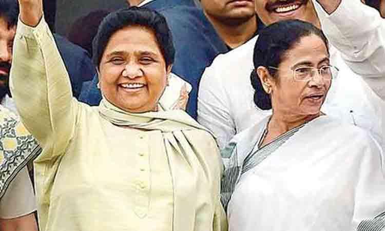 Mayawati And Mamata