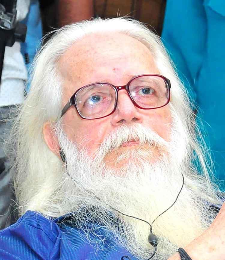 നമ്പി നാരായണന് നഷ്ടപരിഹാരമായി 1.3 കോടി നൽകും