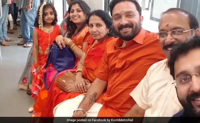 Ranjit-and-Family-at-Metro