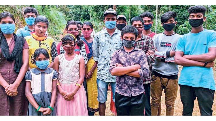 കുറുക്കൻകുണ്ടിൽ 24 കുട്ടികളുടെ ഓൺലൈൻ പഠനം ഇരുളടഞ്ഞു തന്നെ