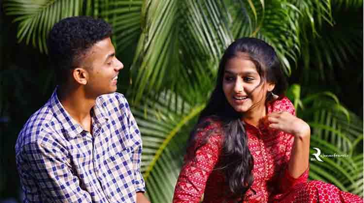 anaswara with mathew