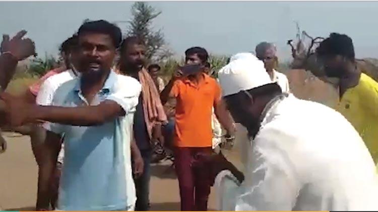 കോവിഡ് പരത്തുന്നെന്ന് ആരോപിച്ച് കർണാടകയിൽ മുസ്ലിംങ്ങൾക്ക് നേരെ ആക്രമണം -VIDEO