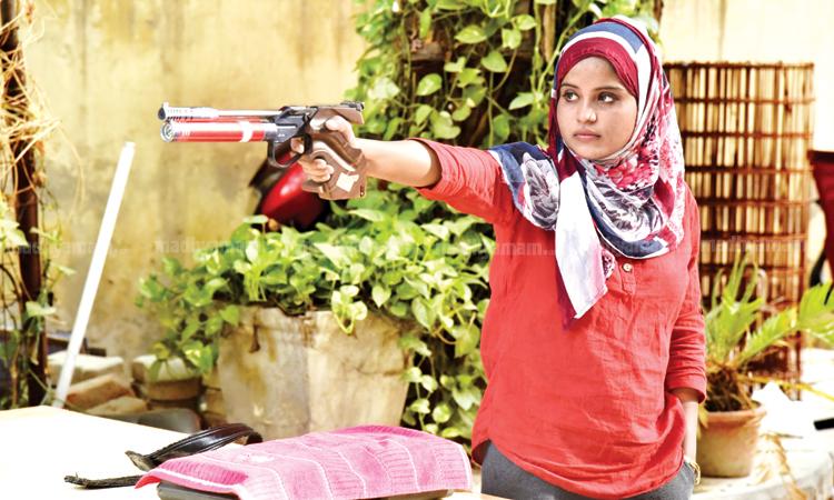 Shooting Champion Ayisha Falaq
