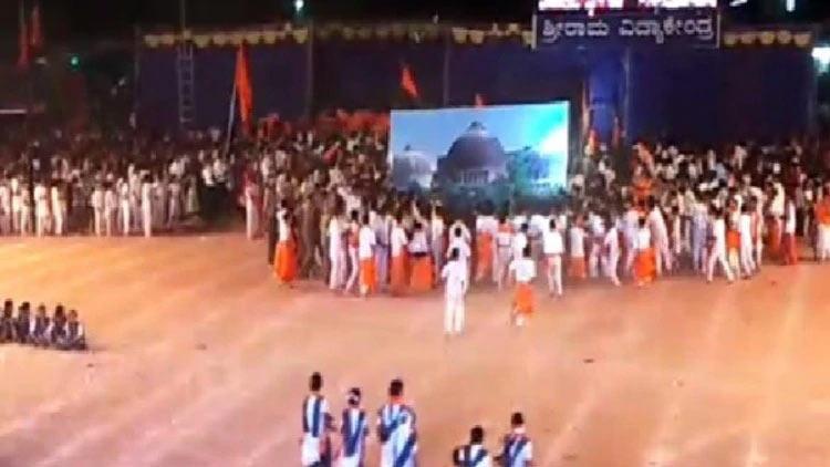 സ്കൂളിലെ 'ബാബരി മസ്ജിദ് തകർക്കൽ': ആർ.എസ്.എസ് നേതാവ് അടക്കം അഞ്ചു പേർക്കെതിരെ കേസ്