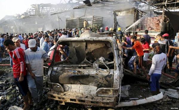 ബഗ്ദാദില് ഐ.എസ് ആക്രമണത്തില് 58 പേര് കൊല്ലപ്പെട്ടു