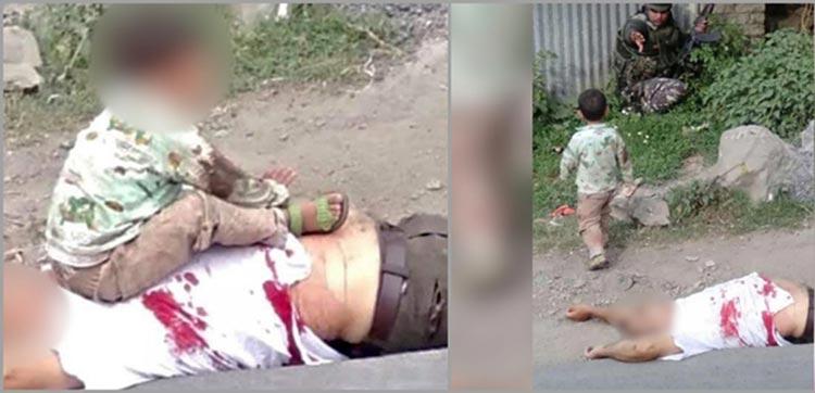 സോപോർ ഏറ്റുമുട്ടൽ: മുത്തച്ഛനെ വെടിവെച്ചത് പൊലീസെന്ന് കശ്മീരി ബാലൻ -Video