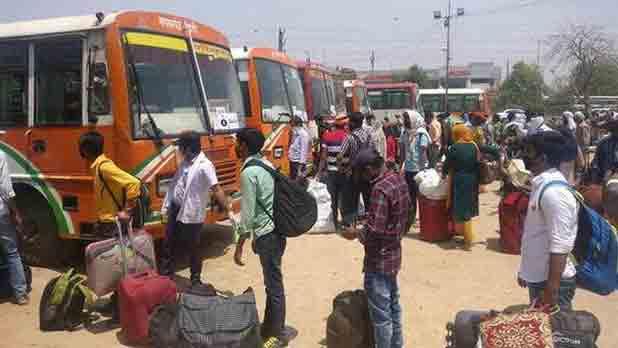 രാജസ്ഥാനിൽനിന്ന് 300 ബസുകളിൽ വിദ്യാർഥികളെ തിരിച്ചെത്തിച്ച് യോഗി
