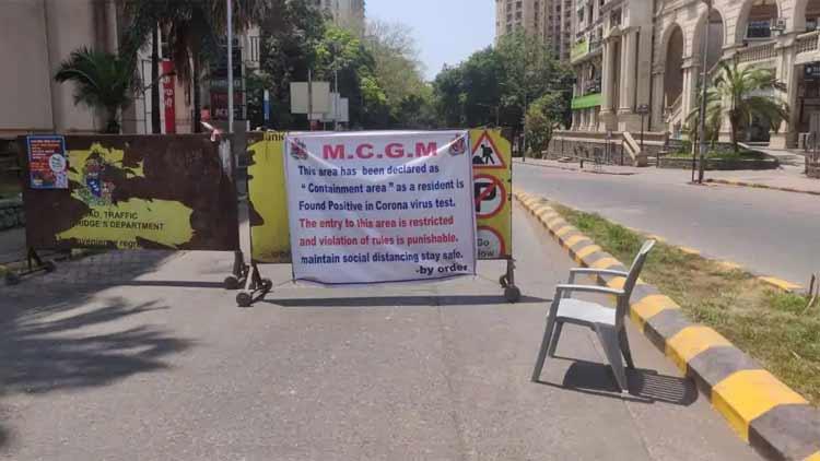 മുംബൈയിൽ 611 കോവിഡ് കേസുകൾ; ഉദ്ദവ് താക്കറെയുടെ വസതിക്ക് സമീപമുള്ള മേഖല അടച്ചു