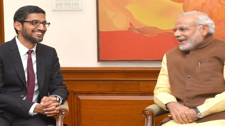 ഗൂഗ്ൾ ഇന്ത്യയിൽ 75,000 കോടിനിക്ഷേപിക്കും