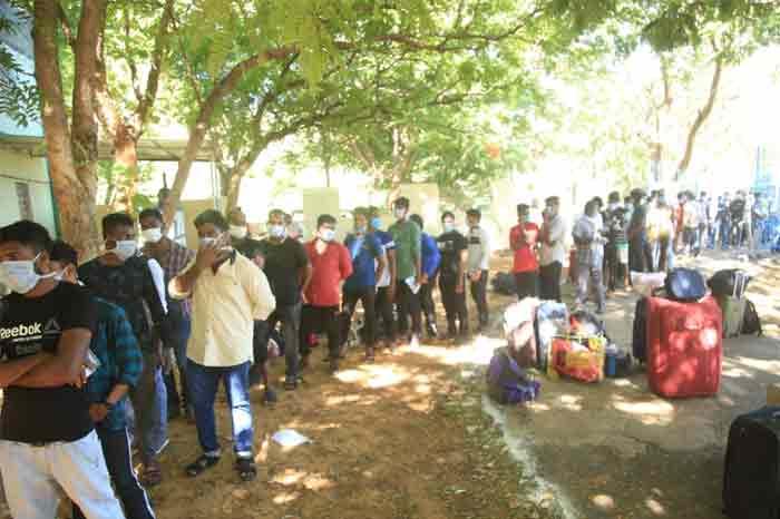 ഇറാനിൽ കുടുങ്ങിയ 687 മത്സ്യതൊഴിലാളികൾ തിരിച്ചെത്തി