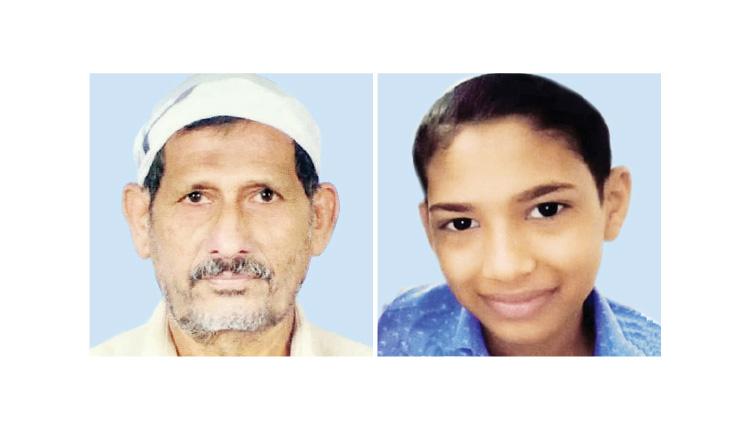 ഷാള് കഴുത്തില് കുരുങ്ങി 13കാരനും വിവരമറിഞ്ഞ് വല്യുപ്പയും മരിച്ചു