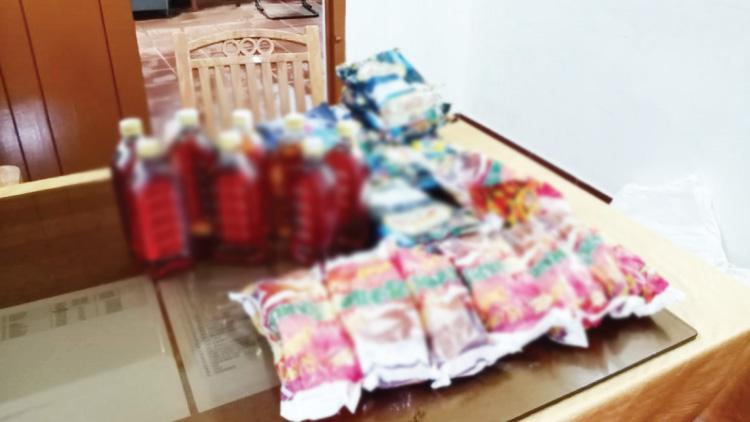 1000 പാക്കറ്റ് പാന്മസാലയും ഒമ്പത് കുപ്പി മദ്യവും പിടികൂടി