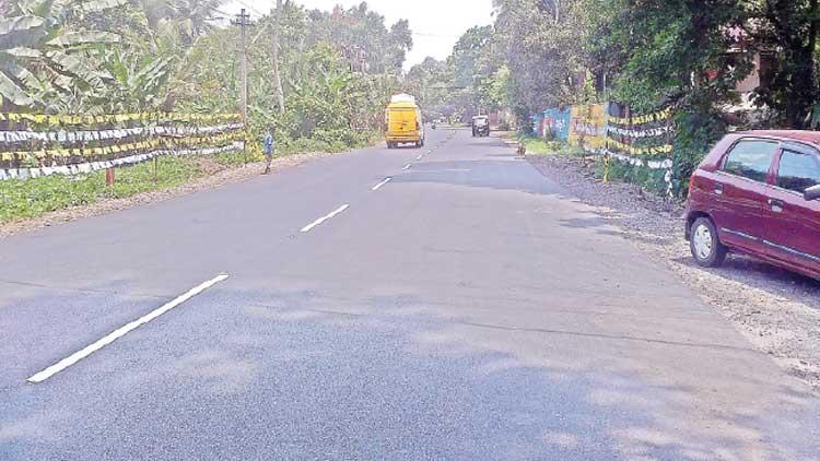സംസ്ഥാനപാത-അഞ്ച്: അടൂര്-ഇളമണ്ണൂര് ഉപരിതല വികസന പ്രവര്ത്തനം പൂര്ത്തിയായി