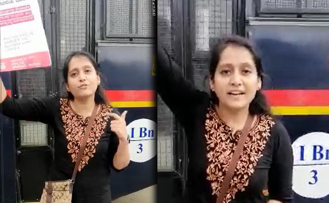 കർഫ്യൂ അവഗണിച്ച് ഒറ്റക്ക് സമരം ചെയ്ത് സാലി ജോർജ്