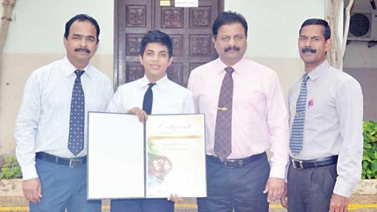 സലാല ഇന്ത്യൻ സ്കൂൾ വിദ്യാർഥിക്ക് അന്താരാഷ്ട്ര പരിസ്ഥിതി പുരസ്കാരം