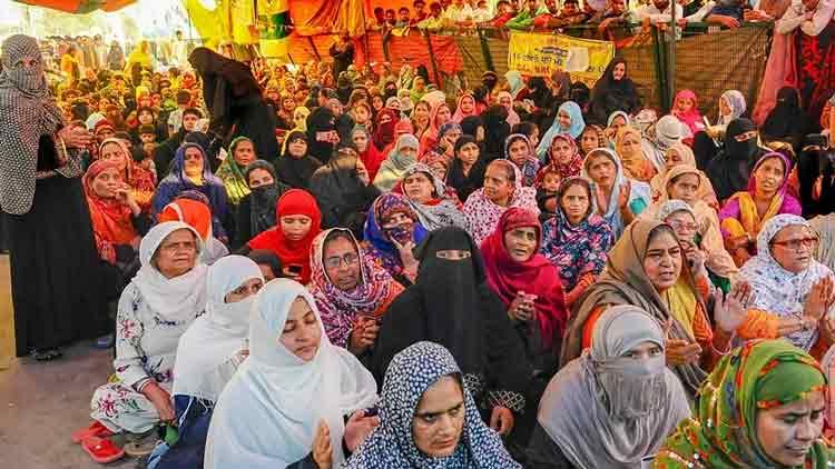 സമരം: മുൻകരുതൽ സ്വീകരിച്ച് ശാഹീൻബാഗ് സ്ത്രീകൾ