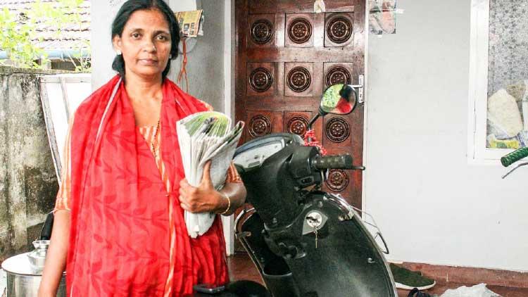 സിൽവി, വൈപ്പിനിെൻറ 'പത്രക്കാരി'