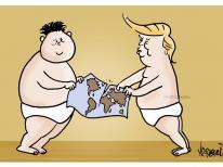 Trump Vs Kim