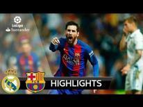 Real Madrid vs Barcelona 2-3 - All Goals & Extended Highlights - La Liga 23/04/2017 HD