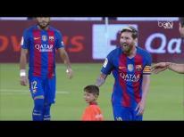 Messi & Murtaza Ahmadi - Al Ahli SC vs Barcelona 13-12-2016