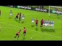 Marcus Rashford Free-kick - Man United 1-0 Celta Vigo