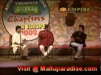 Nadirsh Ayyappan Baiju Kalabhavan Mani Stage show Comedy Europe