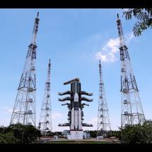 LIVE Launching of Chandrayaan 2 GSLV mk III M1