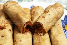 Chicken-Chapati-Roll