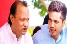 Ajit-Pawar-and-Rohi--Pawar