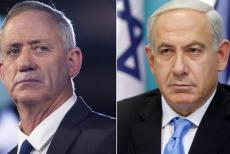 Benjamin-Netanyahu,-benny-Gantz