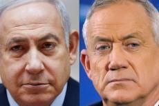 Benny-Gantz,-Benjamin-Netanyahu