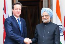 Manmohan Singh- David Cameron