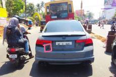osama bin laden photo in car