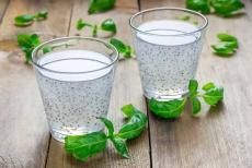 basil-seed drink