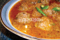 beef ball curry food