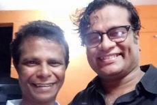 indrans with Hareesh Peradi