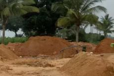 land-filling