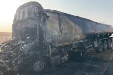 oil tnker truck accident