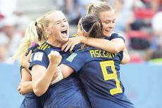 sweden womens world Cup