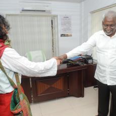 ഇറോം ശർമിള 'മാധ്യമ'ത്തിൽ