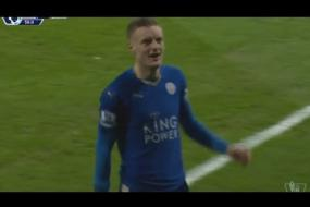 Jamie Vardy with a Stunner Goal vs Liverpool | 02/02/2016 | HD