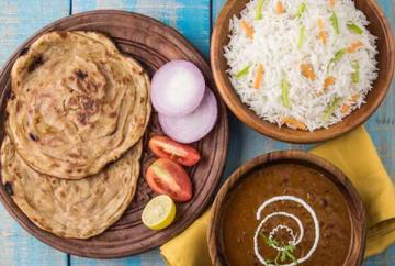 Chapatti-and-Rice