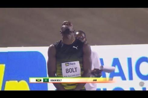 SALUTE TO A LEGEND, USAIN BOLT - 100m - Racers Grand Prix 2017