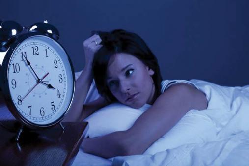 lack of sleeping